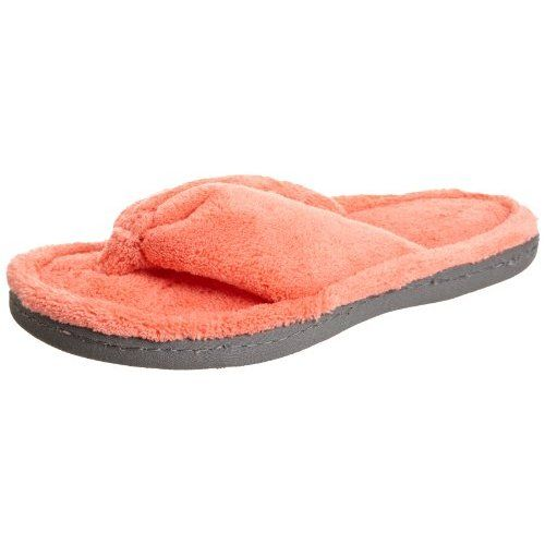 d8fbb451a43 Isotoner Womens Microterry Thong Slipper