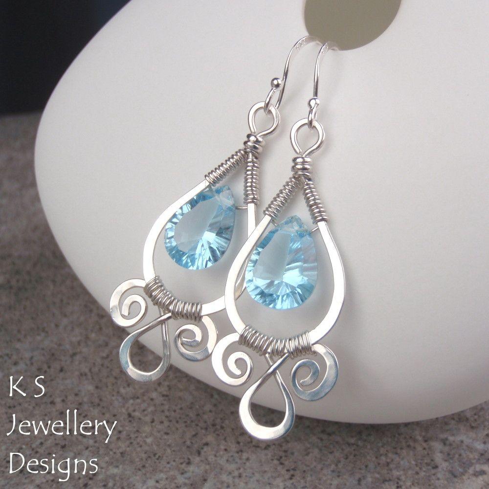 Spiral Loop Frames (Earrings & Pendants) | JewelryLessons.com | Wire ...