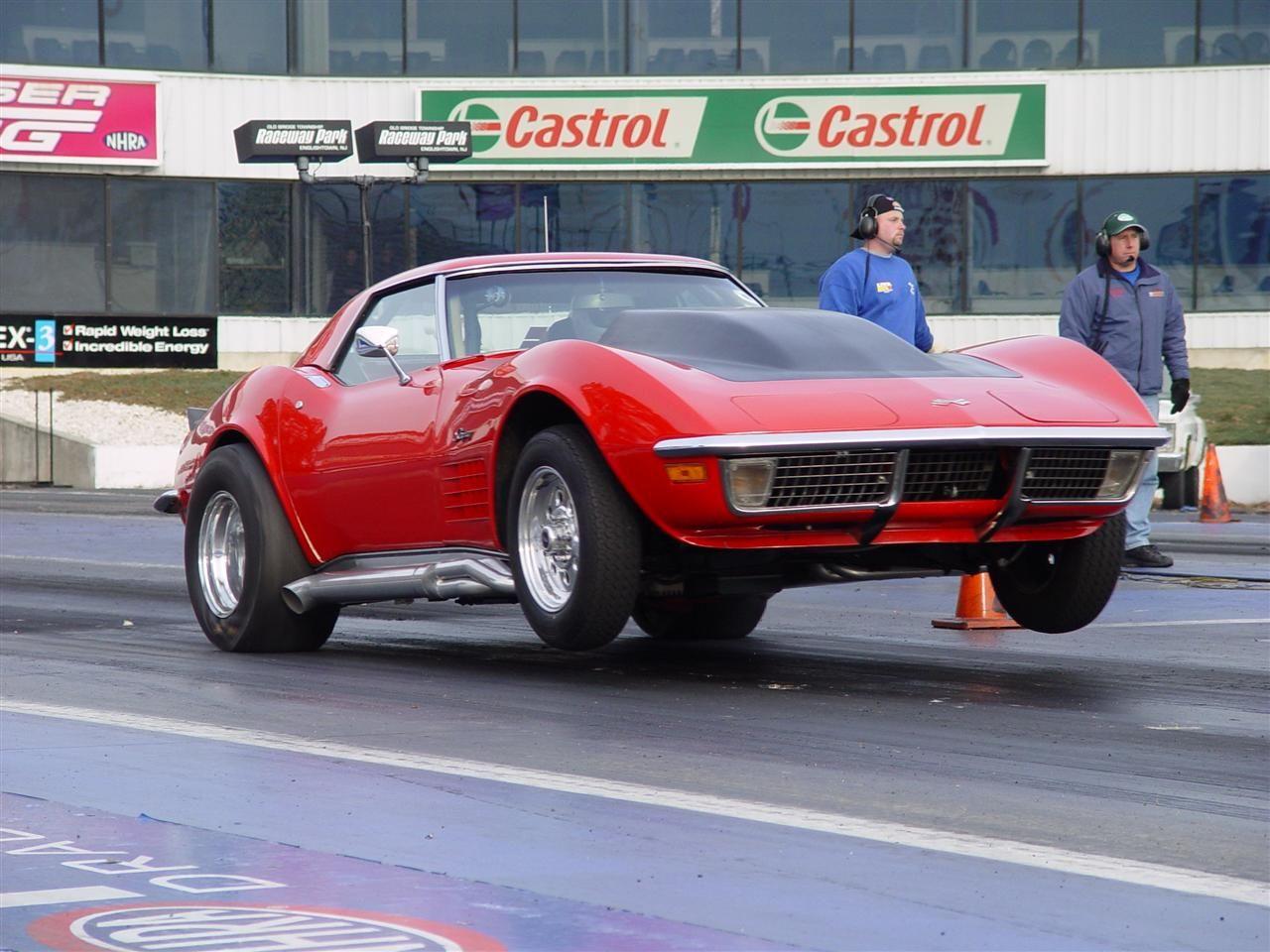 1970 Chevrolet Corvette 1/4 Mile Drag Racing Chevrolet