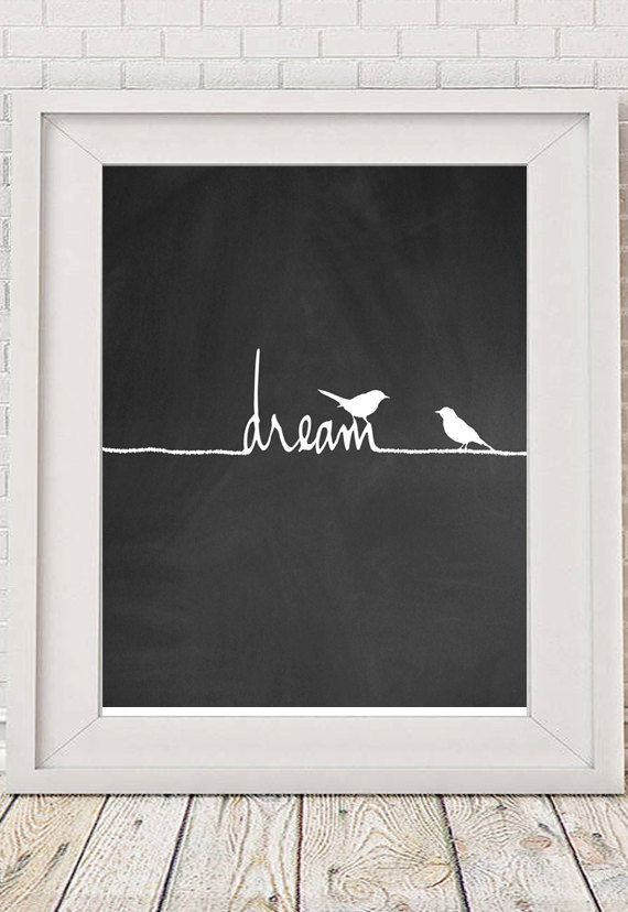 Typography Poster Motivational Print Wall Decor by NotMuchToSay