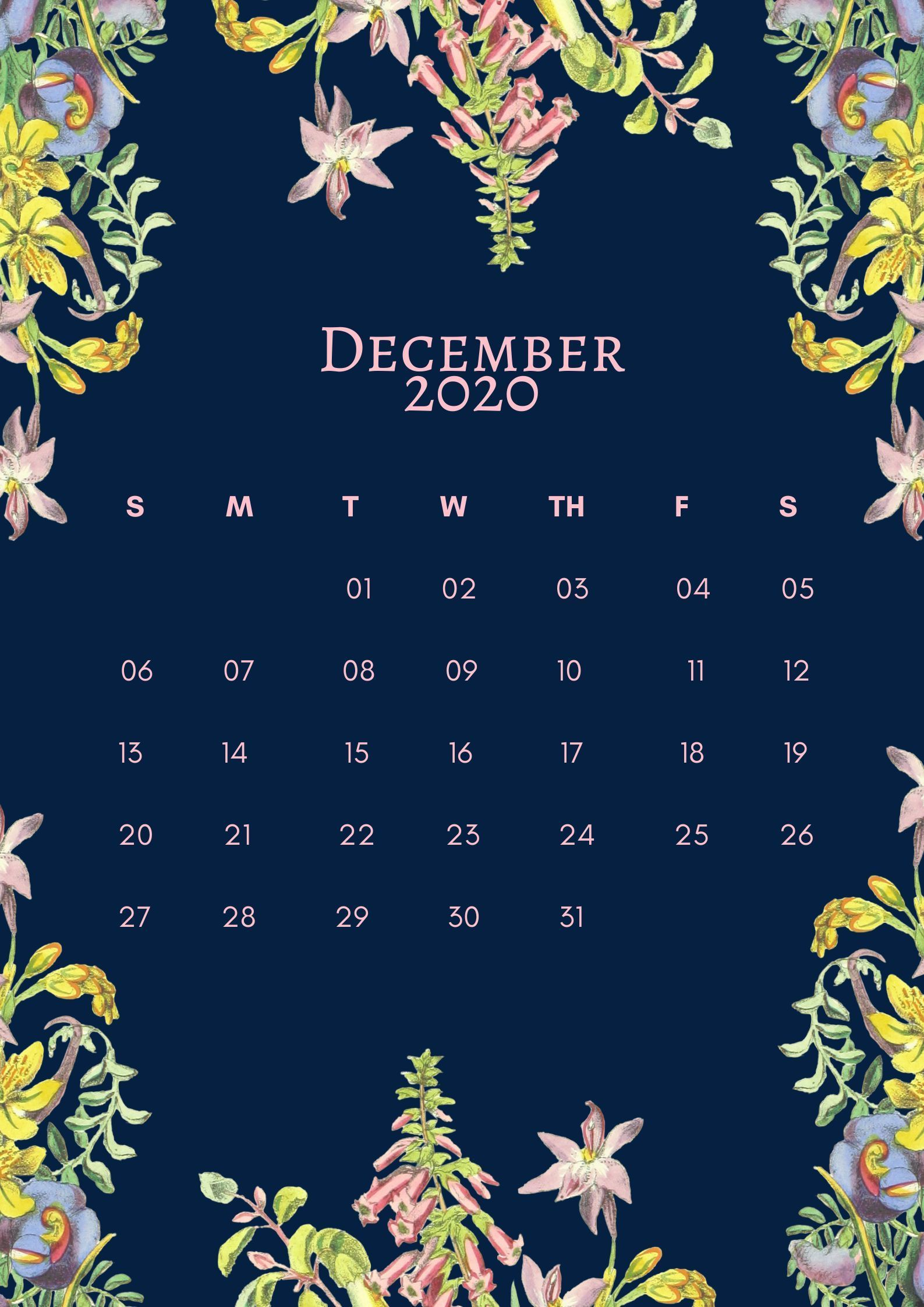 Pin By Kasia Sontag On Calendar Printables Floral Printables Monthly Calendar Printable Calendar Printables
