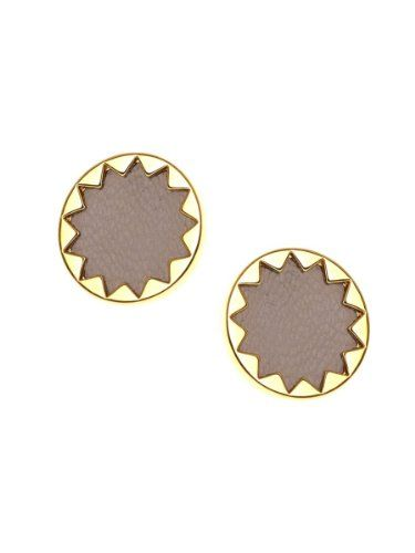 House Of Harlow 1960 Jewelry Sunburst On Earrings Khaki You Can Get More Details