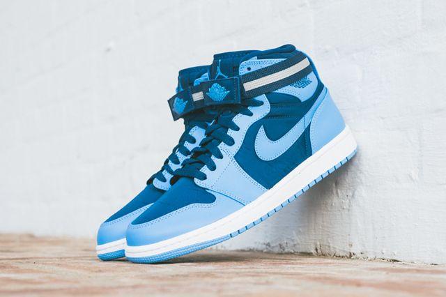 promo code de9bc 4bd3d AIR JORDAN 1 HIGH STRAP (FRENCH BLUE UNI BLUE)   Sneaker Freaker