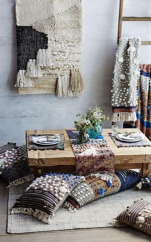 You need to see this boho chic home décor collaboration
