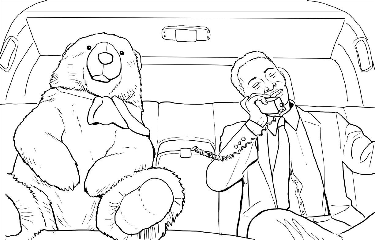 """S Le Spread From """"die Hard Coloring And Activity Book"""" Diehard"""