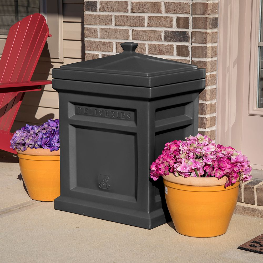 Express Package Delivery Box Black Drop box ideas