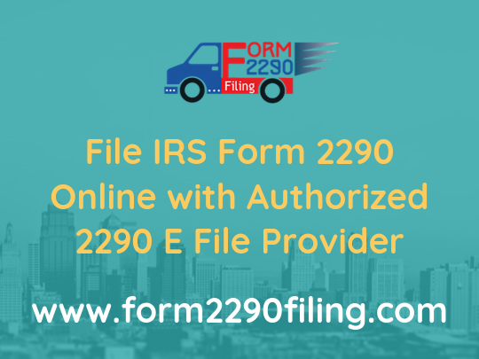 You have any doubts related to the FederalForm2290Filing