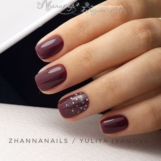 50 sexy dark nails designs you want in fall and winter