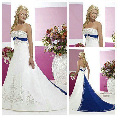 Wedding Ideas Blue Wedding Dress Royal Blue Wedding Dresses