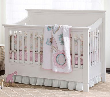 Larkin 4 In 1 Crib With Water Base Finish, Simply White