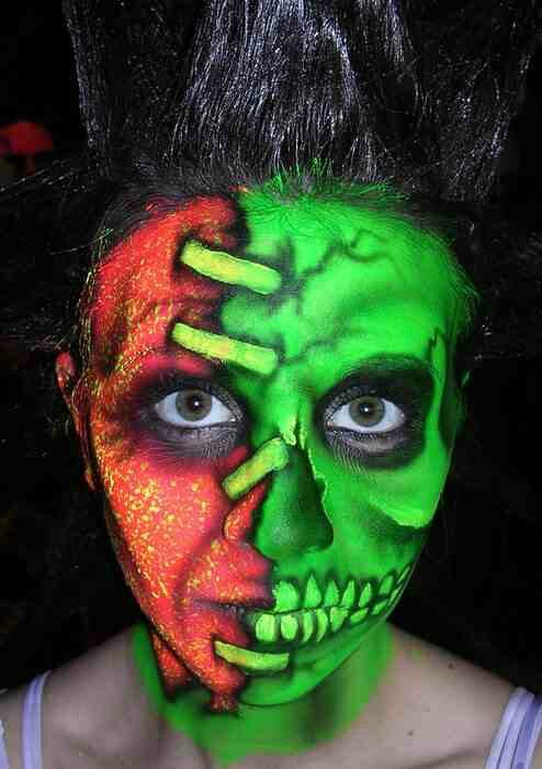 Halloween makeup scary Pinterest Halloween makeup - haunted forest ideas for halloween
