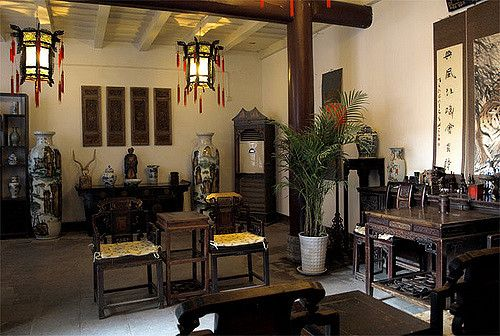 Interior Old Chinese House, Xian, By Jus Snaps (inspiration)