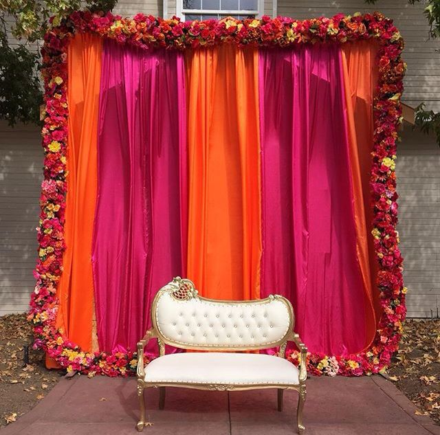 Wedding Hall Decoration Ideas: Calm + Joy + Peace On Mendhi
