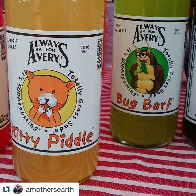 Farmer's market find: Avery's made in Connecticut totally gross soda! #awesomesauce @usalovelist