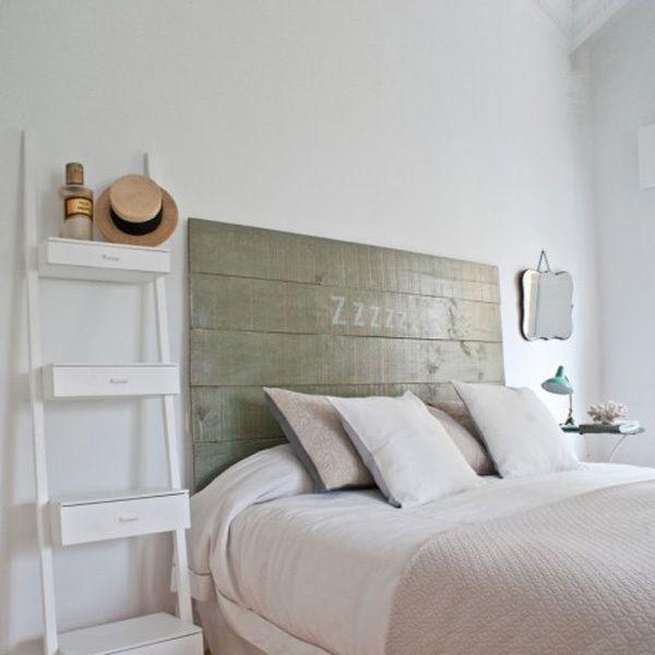 cabeceros-madera-estilo-escandinavo13 | Bedrooms, Interiors and Bed room