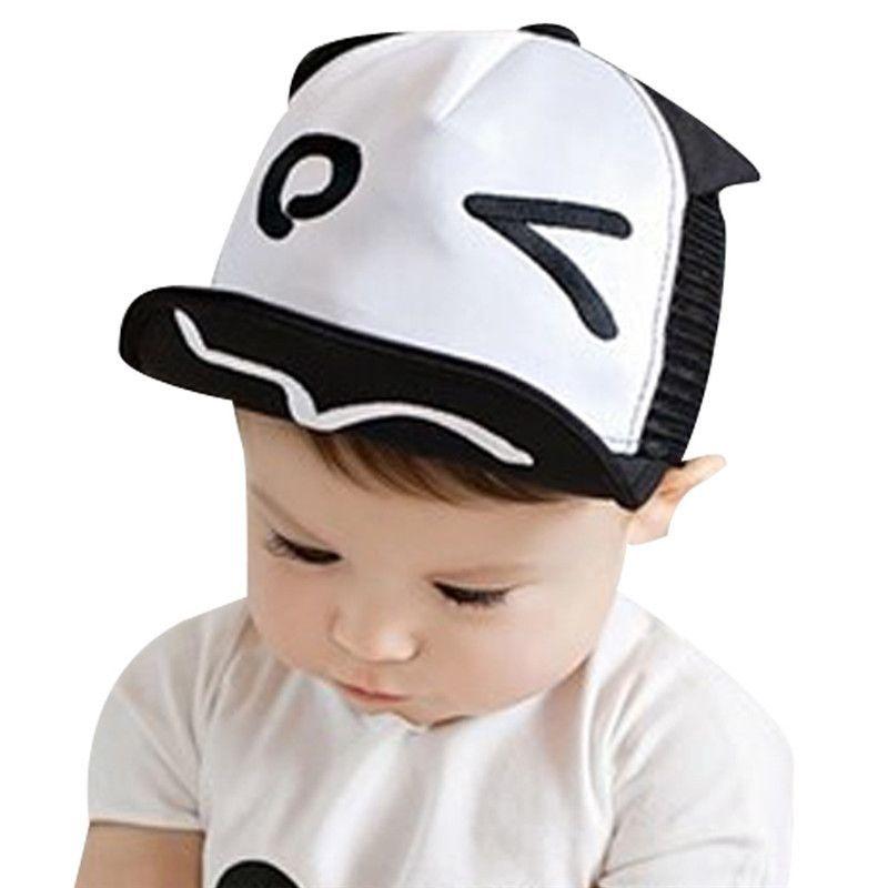 eeb452457e5 Spring Summer Cute Kid Baby Girl Boy Wave Rivet Outdoor Baseball Sun Hat Cap  for 1-3Y Free Shipping