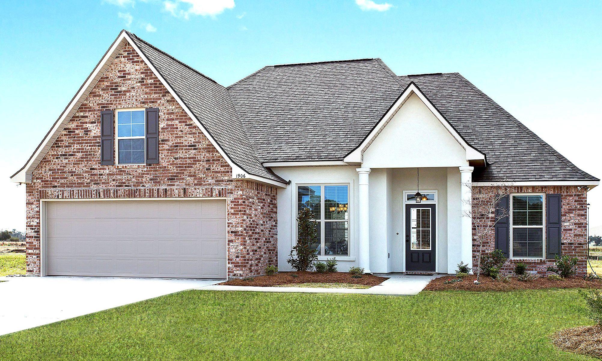 Beau Blanc Estates Model Home Rose Iii B Floor Plan In 2020 Model Homes Home Builders New Home Communities