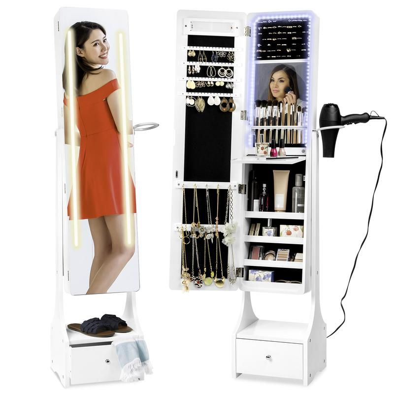27++ Free standing full length mirror with jewelry storage inside information