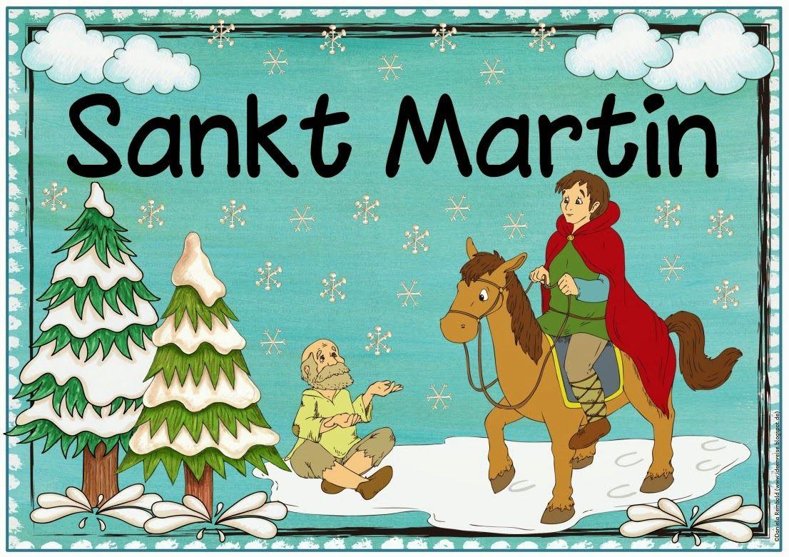 """Ideenreise: Plakat zu """"Sankt Martin""""                                                                                                                                                                                 Mehr"""