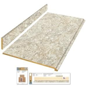 Best Hampton Bay 4 Ft Laminate Countertop Kit In Spring 640 x 480