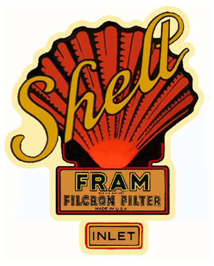 Oil filter decal shell fram coupecustoms com