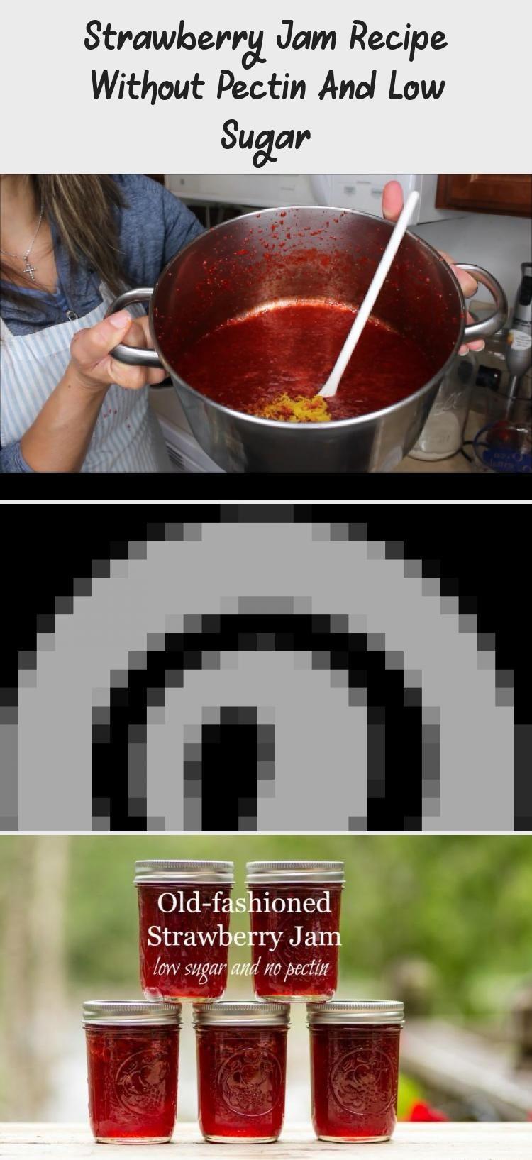 Perfect Strawberry Jam Recipe without pectin! Low Sugar