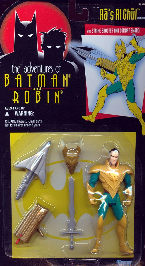 Kenner Adventures of Batman and Robin Ra/'s Al Ghul action figure New!
