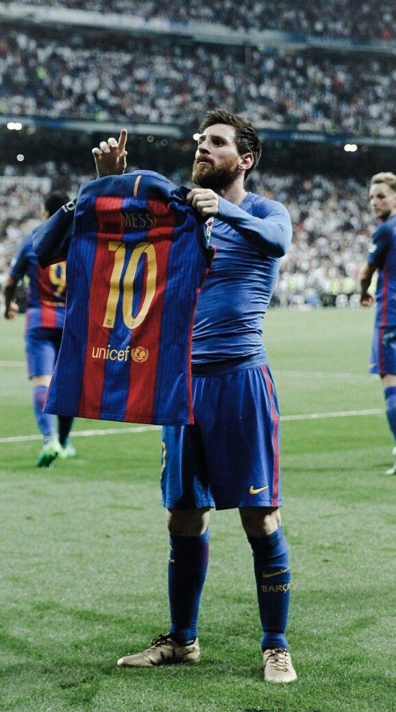 Leo Messi King El Clasico Barca Vs Real