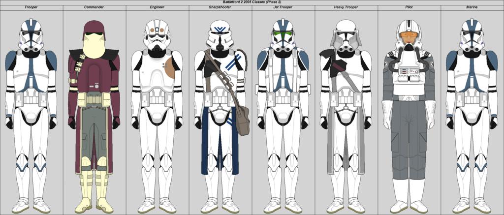 Battlefront 2 2005 Phase 2 By Suddenlyjam Star Wars Clone Wars Star Wars Battlefront Clone Trooper Armor