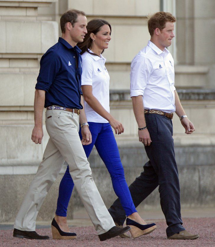 Pin for Later: No Wonder Kate Middleton Can't Stop Wearing These Shoes Kate Middleton Wearing Stuart Weitzman Corkswoon Wedges