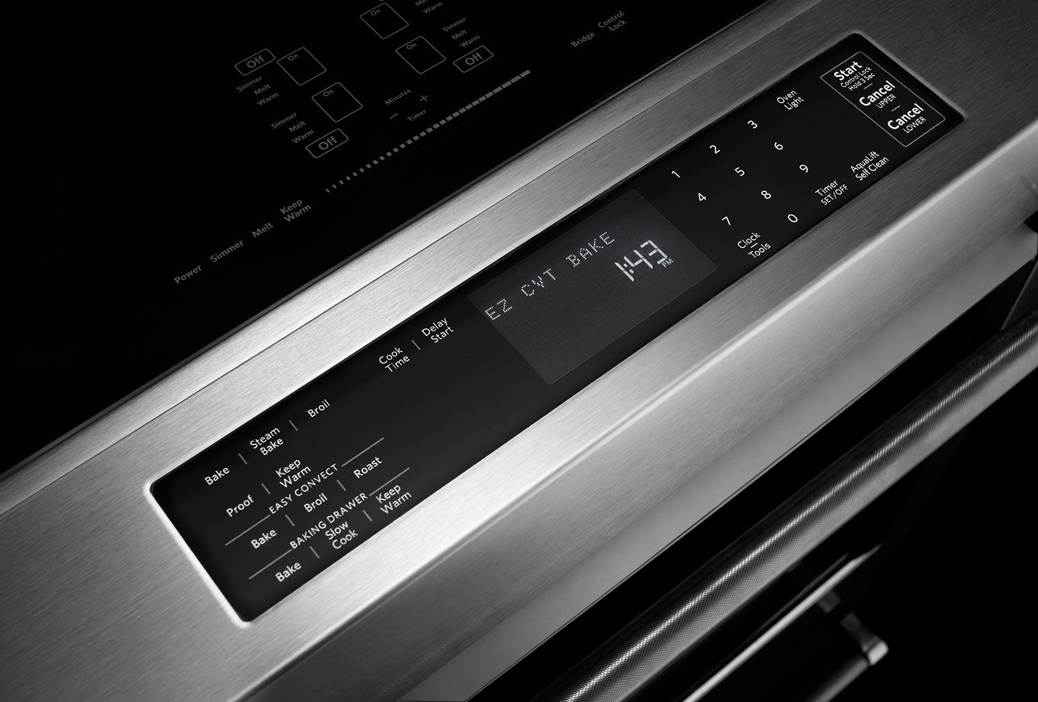 Cooking products kitchenaid electric convection range