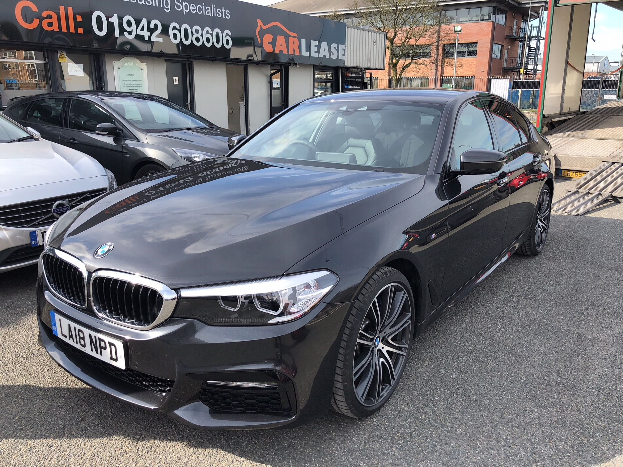 The Bmw 5 Series Diesel Saloon 530d M Sport 4door Auto Car Leasing