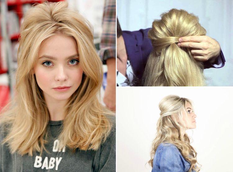 Brigitte Bardot Frisur Modern Trend Toupiert Frisur Hochgesteckt Hochsteckfrisur Zopffrisuren