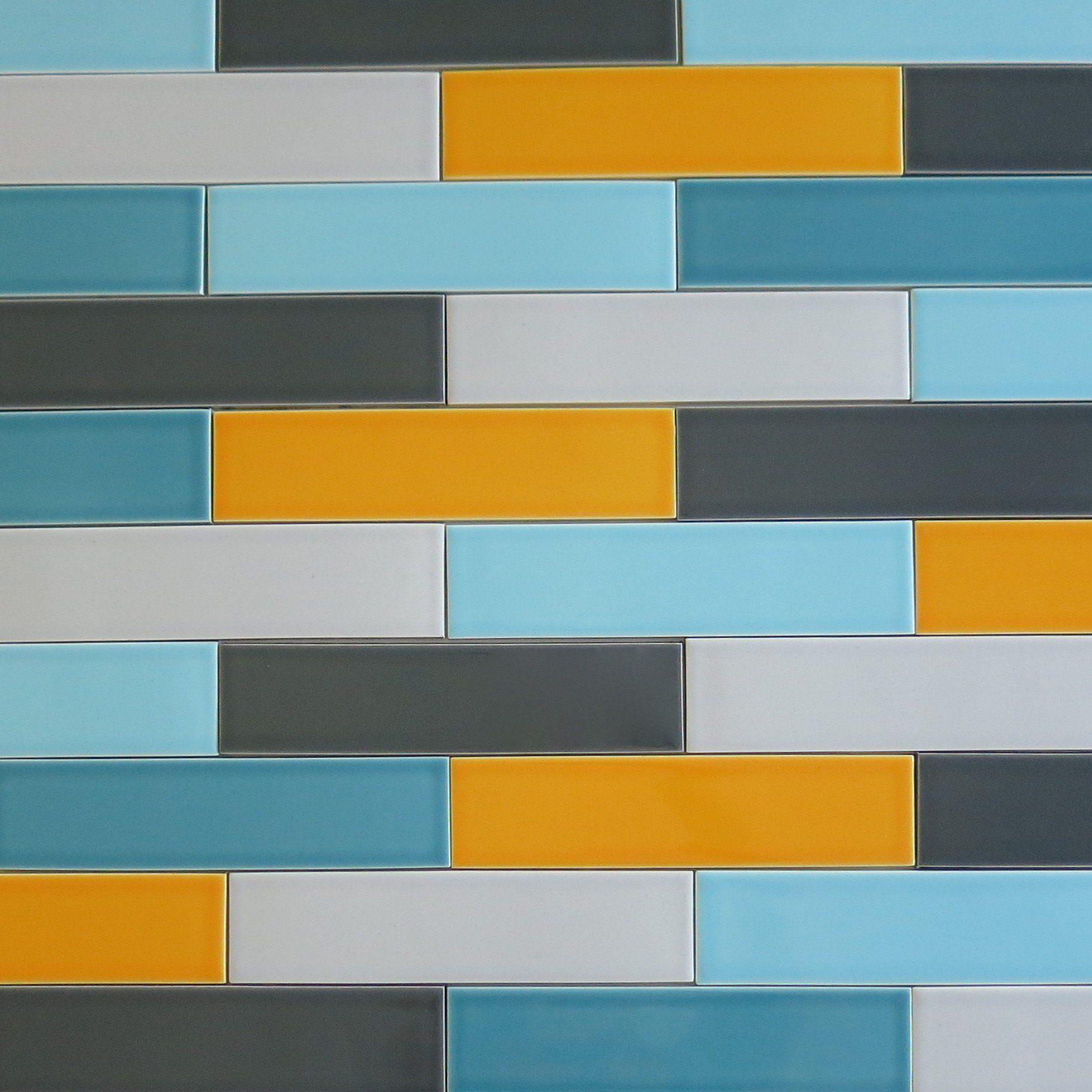 Multi Color Subway Tile Google Search