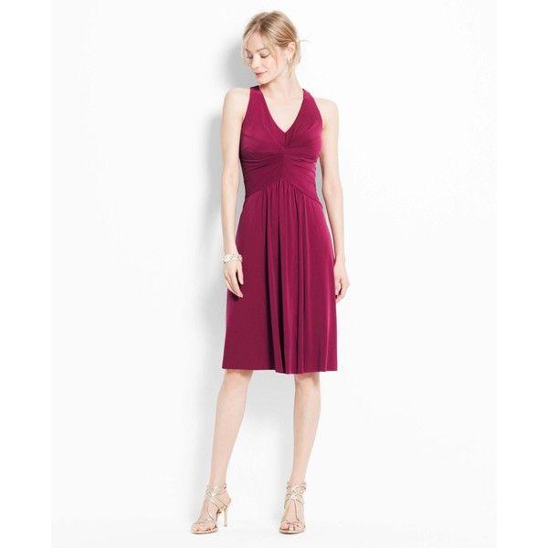 Ann Taylor Petite Jersey Halter Dress $150