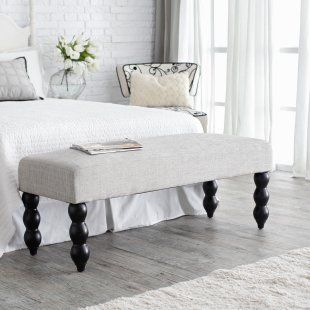 Bedroom Benches in 2020 | Home bedroom, Home decor, Bench