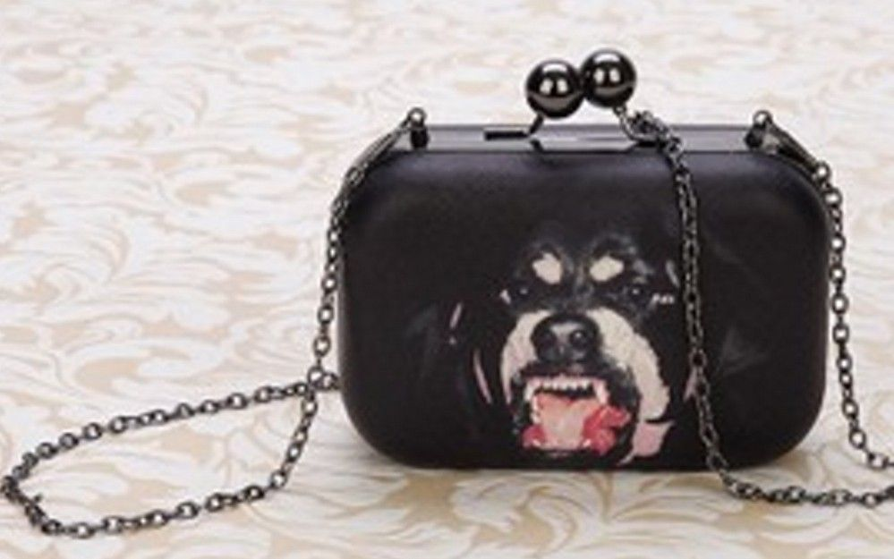 Aliexpress Free Shipping Angry Dogs Logo Buckle Shoulder Bag Notu1075 From Reliable