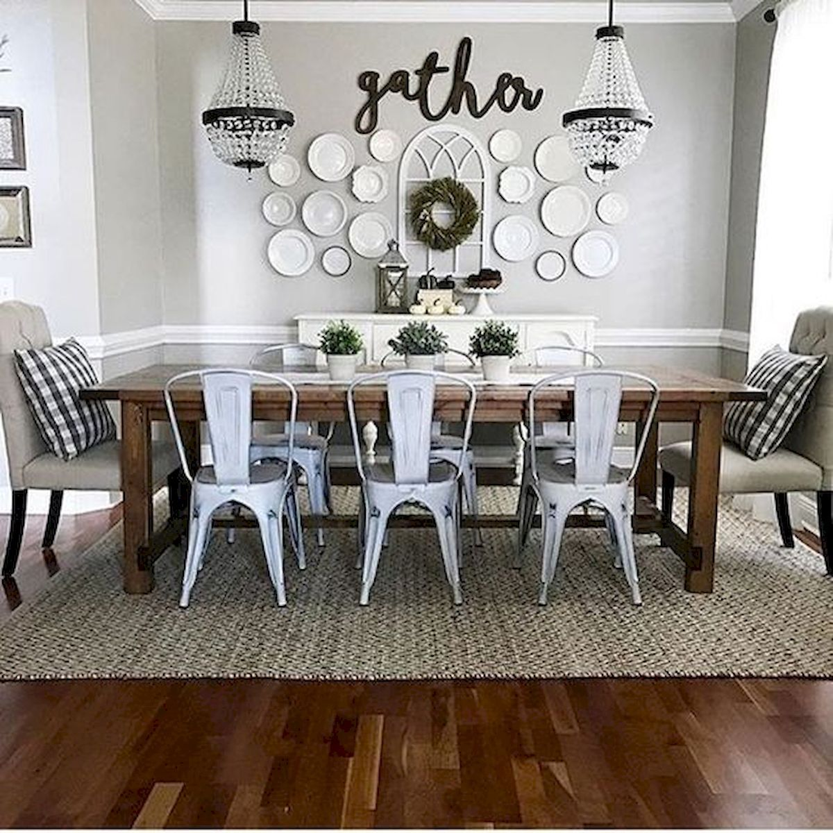 33 Adorable Dining Room Wall Art Ideas And Decor 33decor Dining Room Makeover Farmhouse Dining Rooms Decor Dining Room Remodel