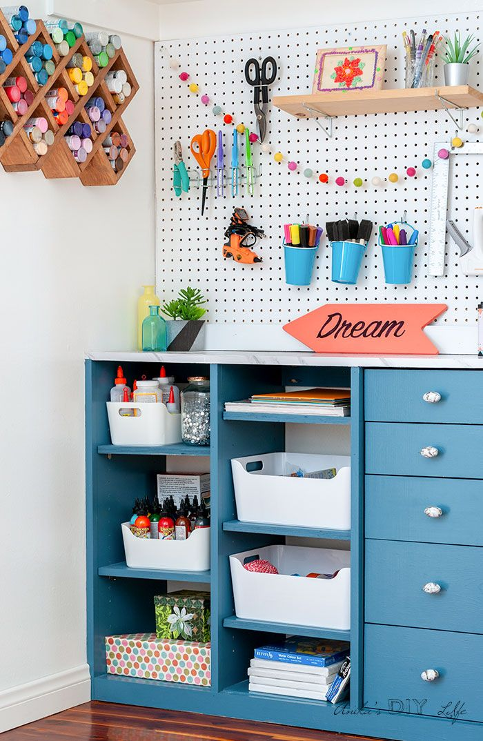 Photo of How To Build A DIY Craft Closet Organizer With Drawers – Anika's DIY Life
