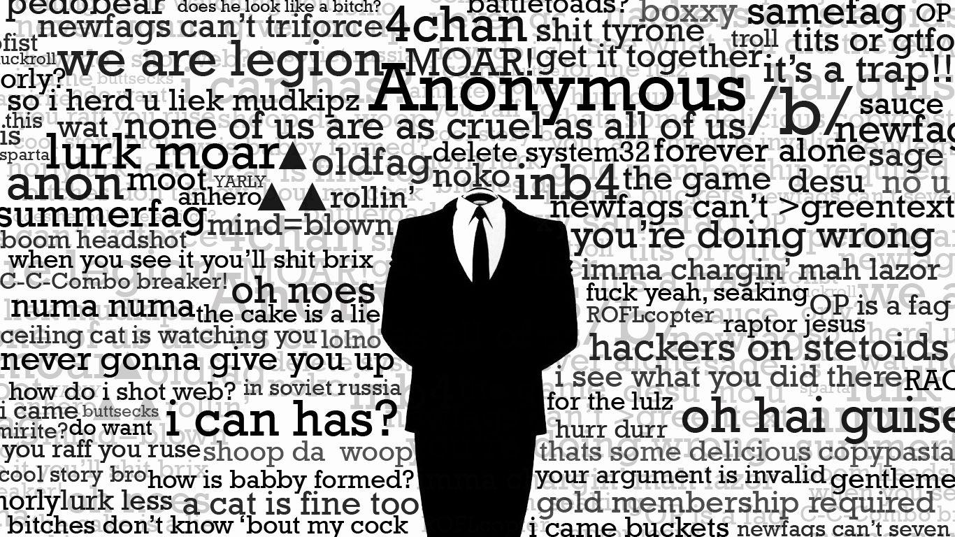 Anonymous Wallpaper 1366x768 ID14684 Seil