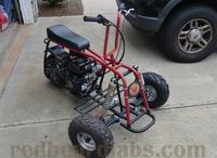 Mini Bike Reverse Trike