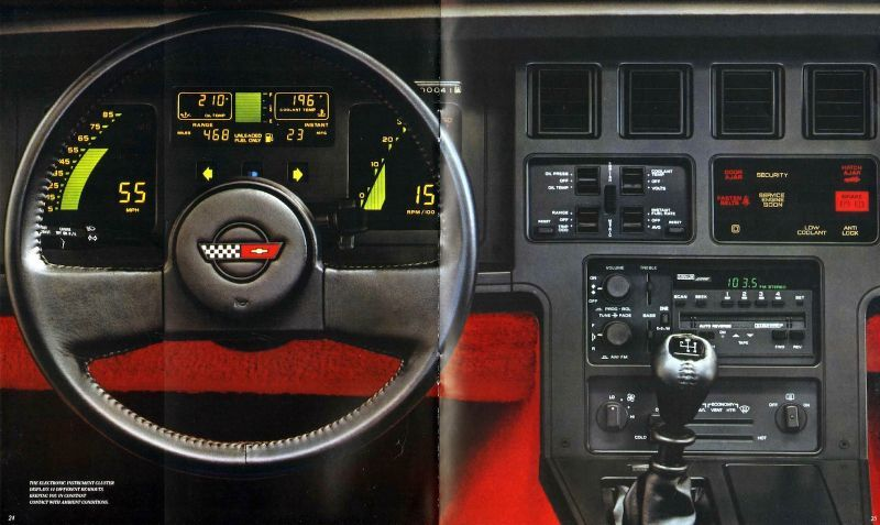 Utterly Bitchen Car Dashboards Inspired By Spaceships Chevrolet - Cool car dashboards