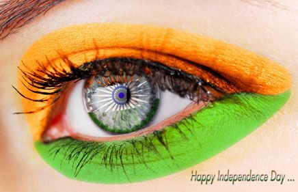 15th August Indian Independence Day Eye Makeup Pictures Yellow Eye Makeup Yellow Eyeshadow