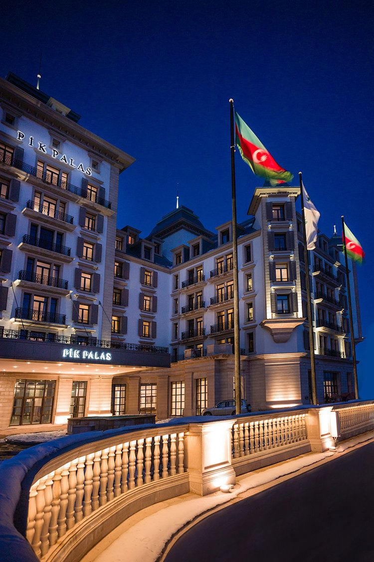 Pik Palace Lighting Design Neolight Global Azerbaijan Travel Baku City Baku Azerbaijan