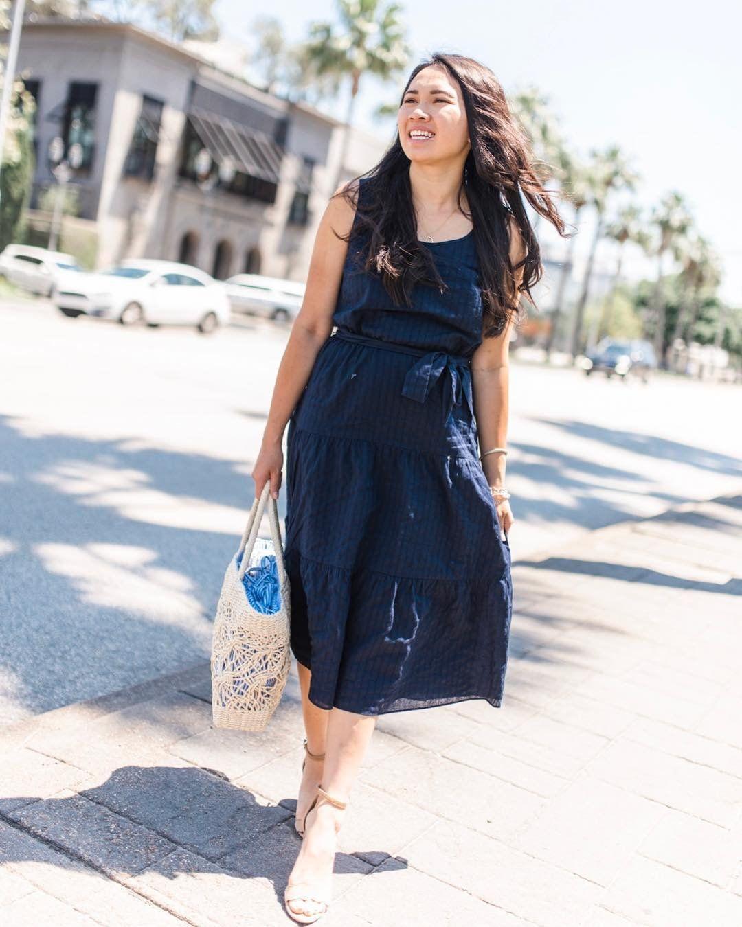 Annie Mescall X Talbots Tiered Maxi Dress Pretty Midi Dresses Maxi Dress [ 1350 x 1080 Pixel ]