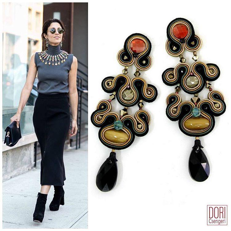 Yasmin a fashion blogger from London is wearing her favorite earrings #DoriCsengeri #earrings #london #fashionstyle #fashionbloger #londonfashionweek