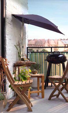 balcon herraje barra de vela - Buscar con Google