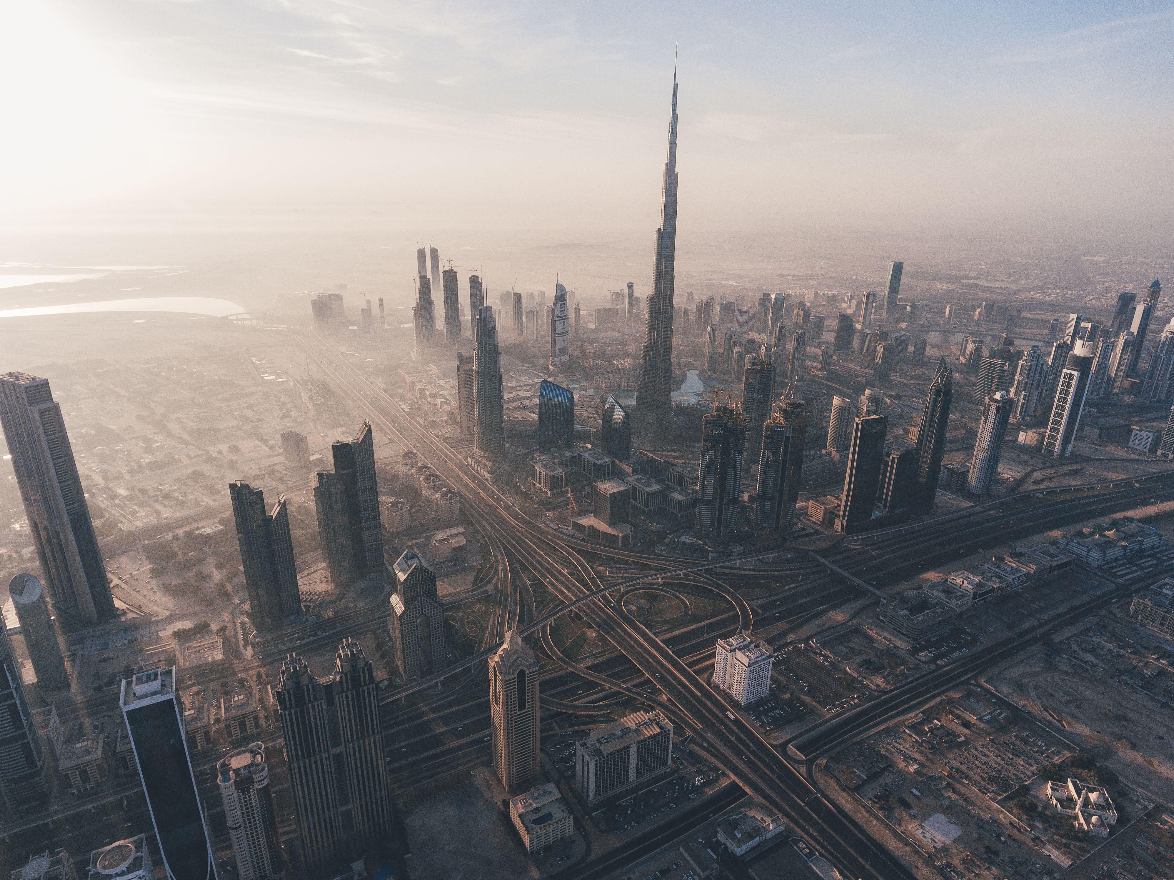 Дубай с высоты купить квартиру на вторичном рынке в дубае