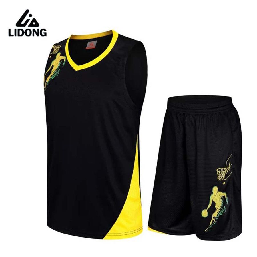 2017 New Adult Basketball Jersey Sets Uniforms kits Men Women Sports  clothing Breathable basketball jerseys shorts DIY Printing aa0fe6e44