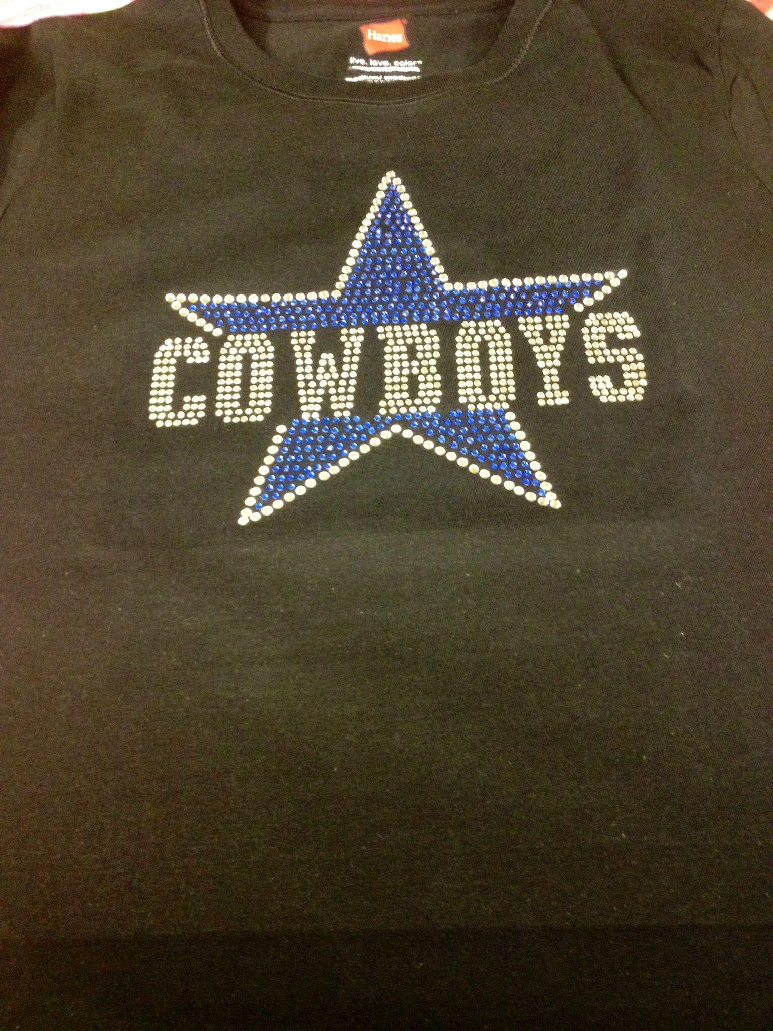 Dallas Cowboys Rhinestine shirt Dallas Cowboys Shirts 3145f48d8